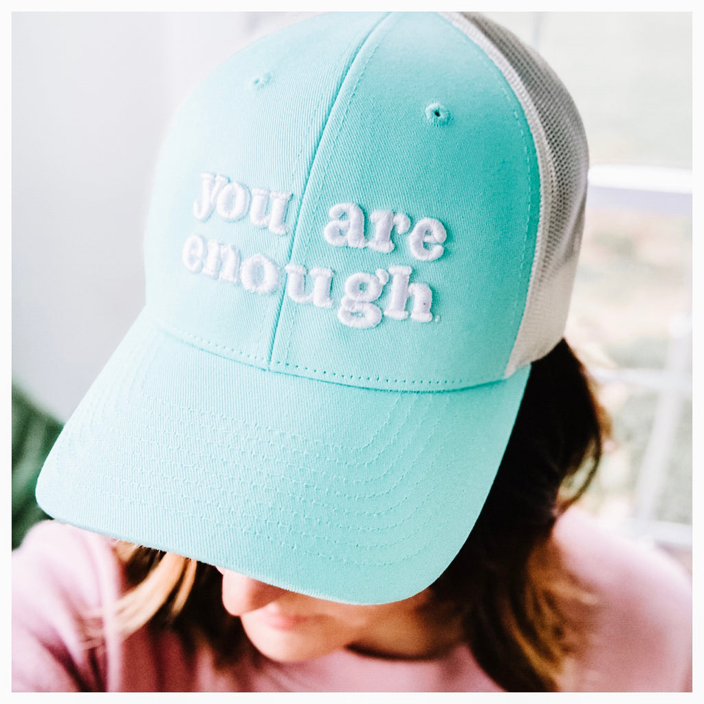 You Are Enough Hat (2 color options)