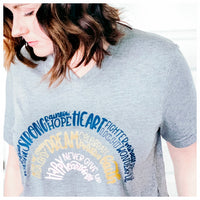 Rainbow Tee - Threads of Love Project