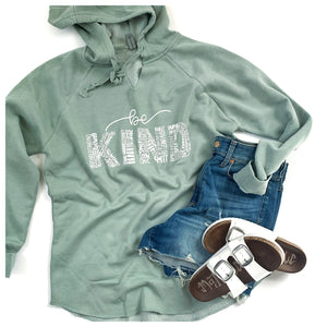 Be Kind Lightweight Hooded Pullover