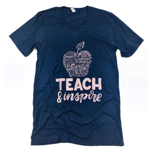 Teach and Inspire (color options)