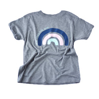 Here Comes The Sun Rainbow Kids Tee