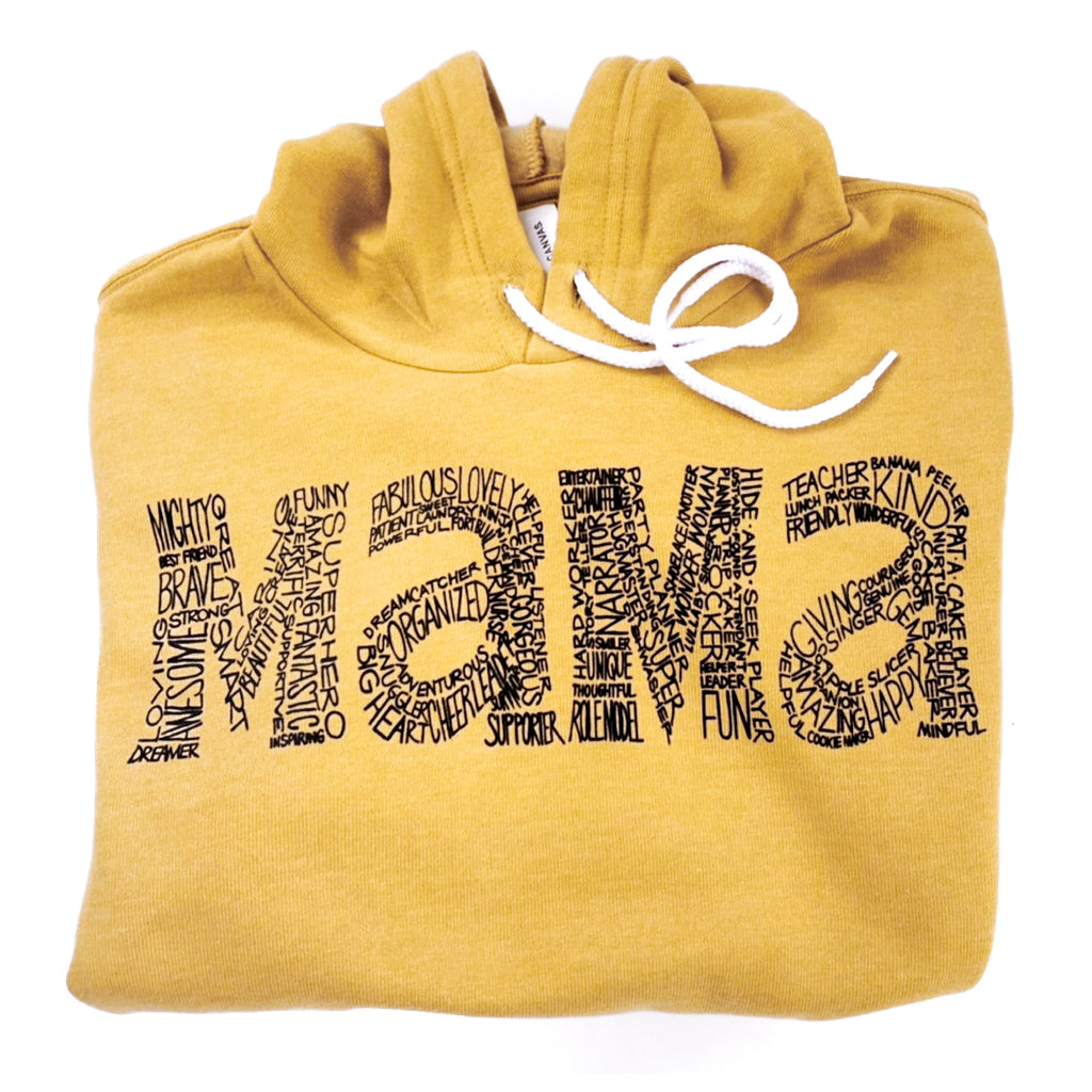 Mama Hooded Sweatshirt