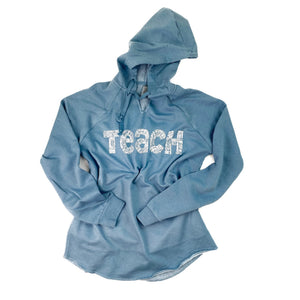 Teach Lightweight Hooded Pullover
