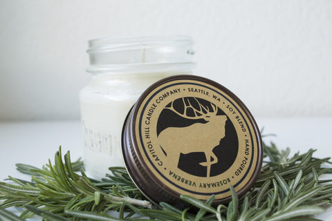 Rosemary Verbena 8 oz. Soy Blend Candle