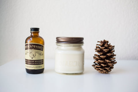 Vanilla Pine 8 oz Soy Blend Candle