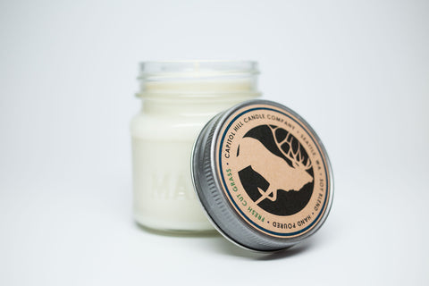 Fresh Cut Grass 8 oz. Soy Blend Candle