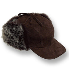 SPECIAL BUY!   SUEDE TIE TOP CAP - ONLY 3  IN STOCK  MADE IN USA