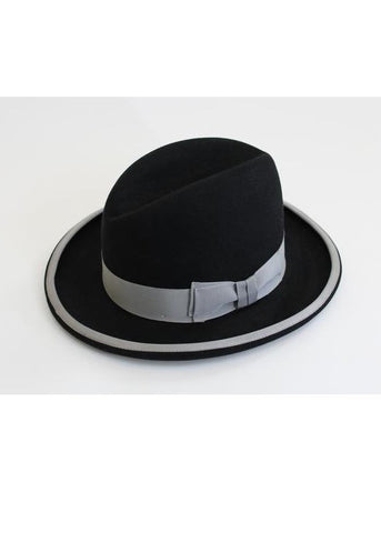THE ARISTOCRAT HOMBURG - Genuine Fur Felt