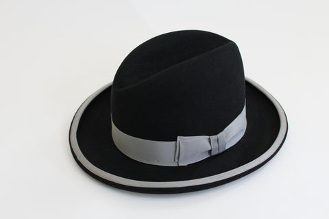 THE ARISTOCRAT HOMBURG - Genuine Fur Felt Made in Spain