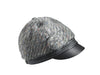 THE HIGH LIFE ANGORA KNIT AND LEATHER CAP - Save 40%