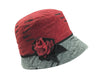 THE ROSE - LADIES BUCKET HAT FROM EUROPE - SAVE 50% LAST CHANCE - ONLY 2 LEFT!