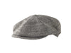 8 QUARTER NEWSBOY LINEN CAP FROM ITALY