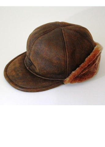 THIS IS A SPECIAL BUY!!    SAVE 50%  GENUINE LAMBSKIN JOCKEY CAP WITH CUFF