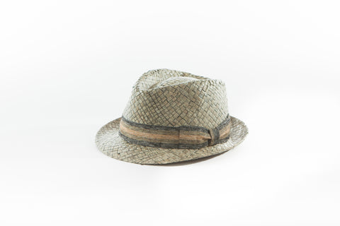 THE ELLIS - OPEN BOWENS STRAW HAT  -   Limited Availability