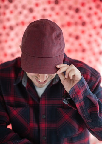 Hal - Linen Solid Fitted Cap