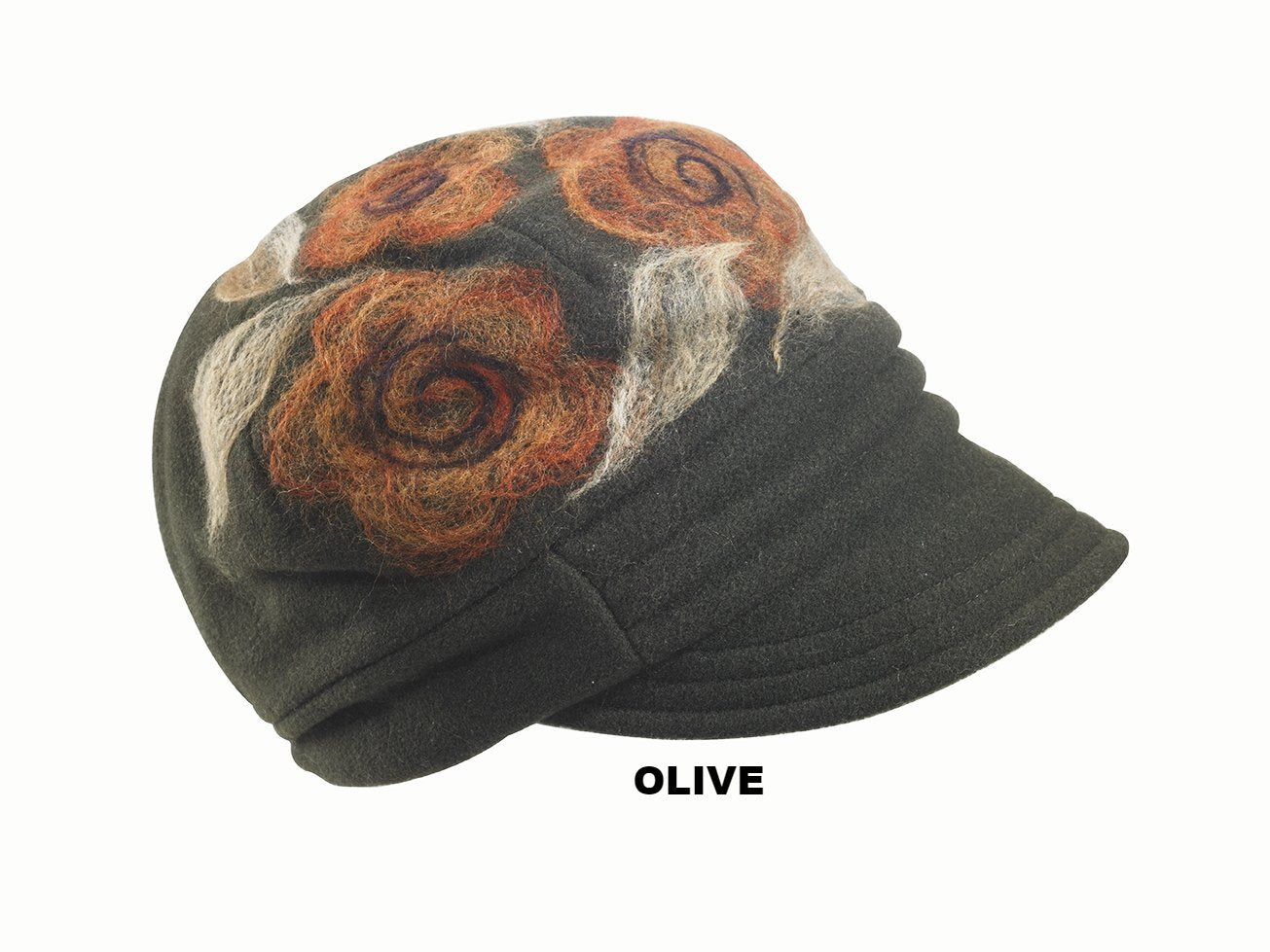 THE OLIVIA CLOCHE - SIZED CAP FROM EUROPE - Stefeno Hats 50d076b7c002