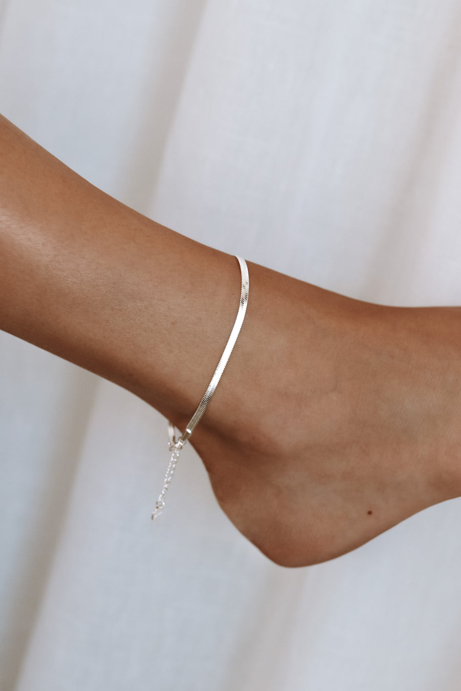 Aleera - 14ct Gold or Silver Plated Anklet