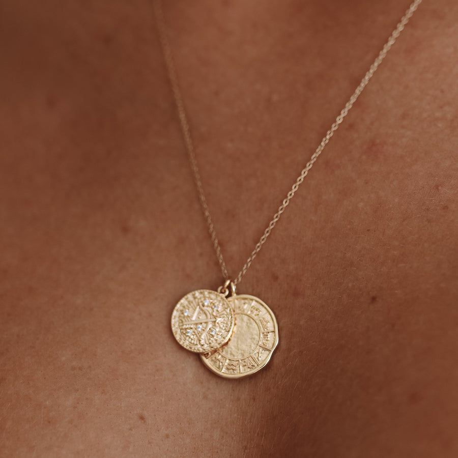 Athena - 18ct Gold or Silver Plated Necklace