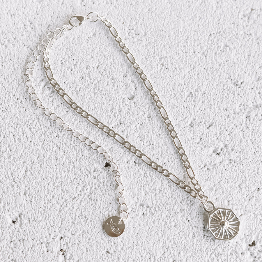 Maddie - Silver or Gold Plated Stainless Steel Anklet