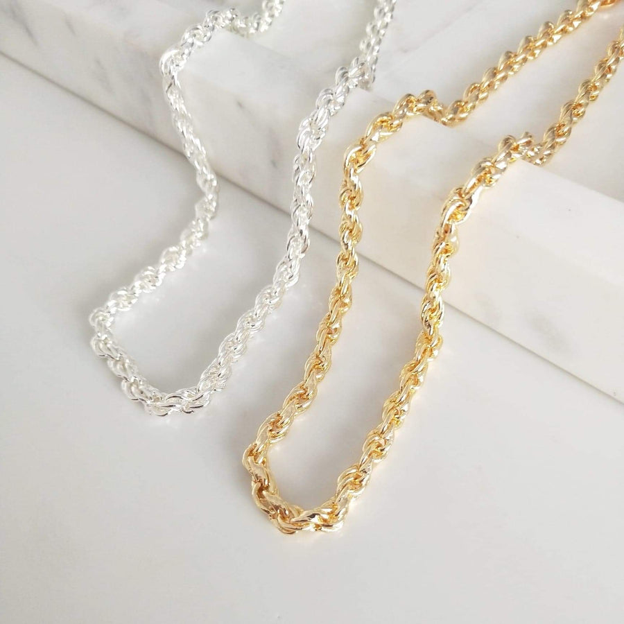 Karla - 14ct Gold or Silver Plated Necklace