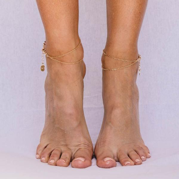 London - Silver, Gold or Rose Gold Anklets
