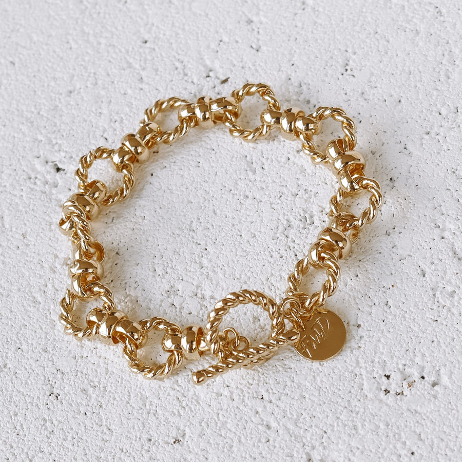 Rylie - 18ct Gold Plated Bracelet