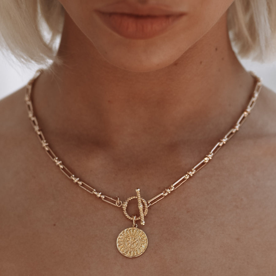 Xanthe - 14ct Gold or Silver Plated Necklace