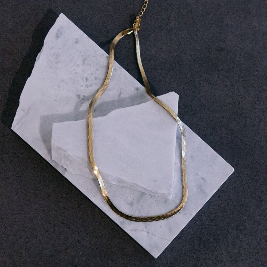 Lottie - Silver or Gold Stainless Steel Choker