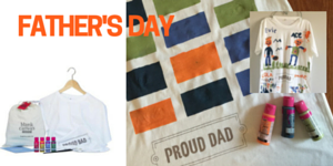 Creative Fundraising Father's Day Tshirt