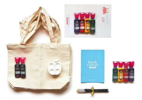 Tote Bag Party Pack ($16 per child, 20 children)