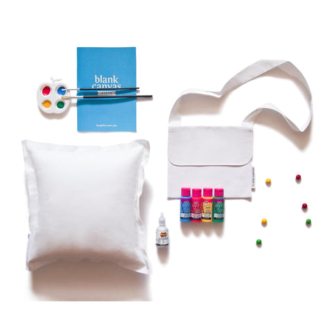 Decorative Cushion + Handbag Combo Pack
