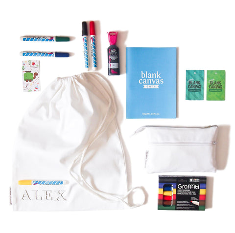 Library Bag + Pencil Case Duo Pack