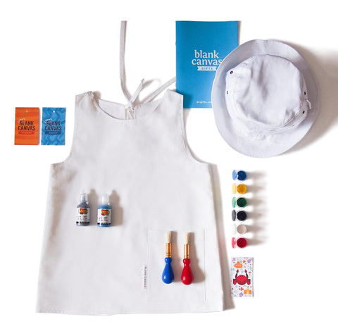 Painting or Art Smock + Sunhat Combo Pack