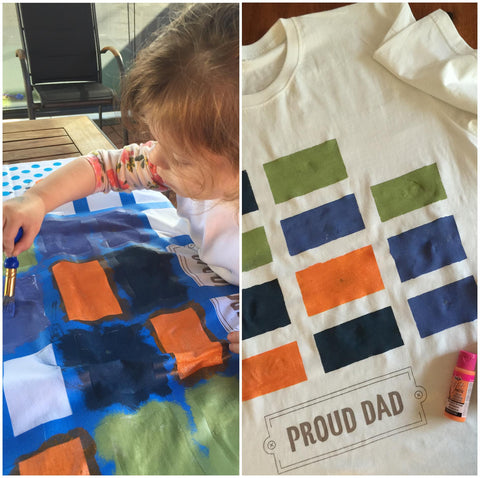 Proud Dad or Pop T-Shirt & Tea Towel Combo Pack
