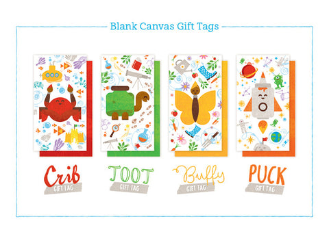 DIY Canvas Tote Bag + Tulip 3D Paints Gift Pack