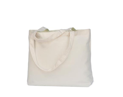 White Canvas Tote Bag - BUY 2, GET 1 FREE