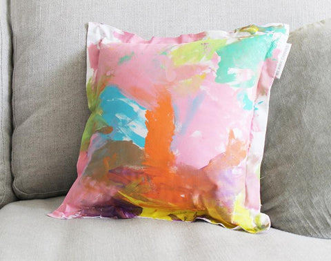 Decorative Cushion + Fabric Paints Gift Packs