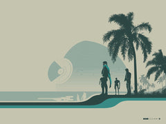 """Jyn Erso (Scarif)"" by Justin Van Genderen. 24″ x 18″ Screenprint. $45"