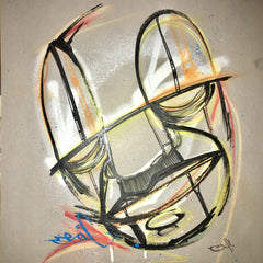 Reflections 2 by Graffiti Artist Real1 Original Art - (Sold Out)