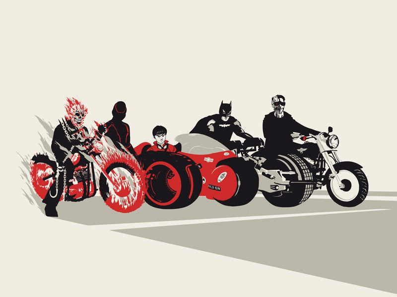 Sons of Anarchy by Raid71 aka Chris Thornley 18x24