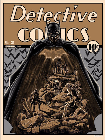 Detective Comics #31 (Variant Edition) by Tim Doyle Screen Print
