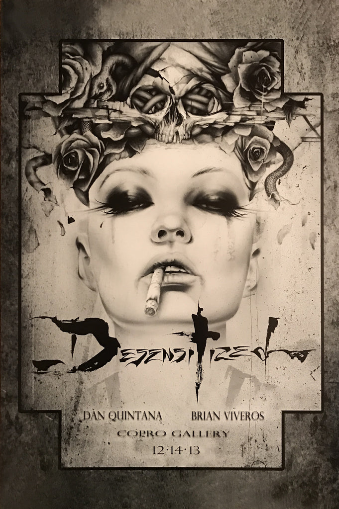 Desensitized 13' by Brian Viveros Art Exhibit Handbill Poster