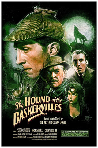 The Hound of the Baskervilles by Paul Shipper 16x24