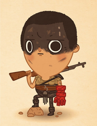 Furiosa Hand of Doom by Mike Mitchell Fine Art Print