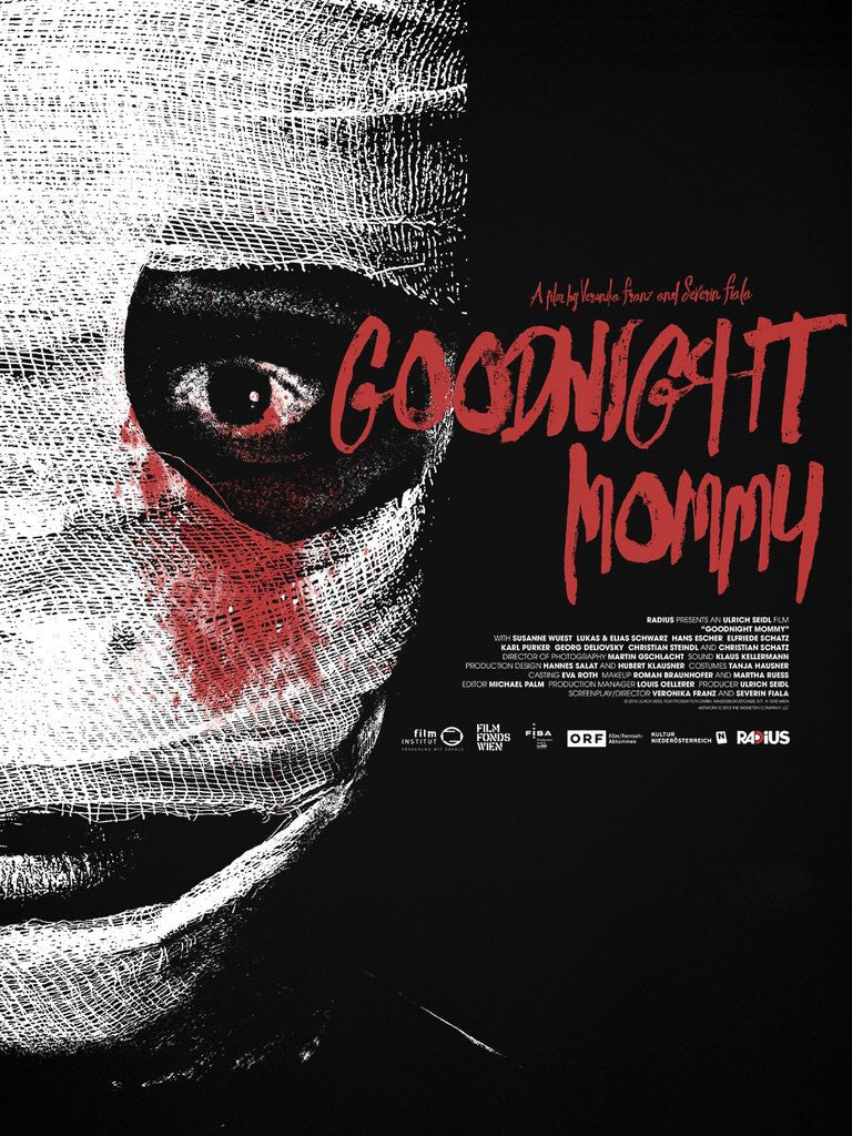 Goodnight Mommy by Jay Shaw Horror Movie Poster