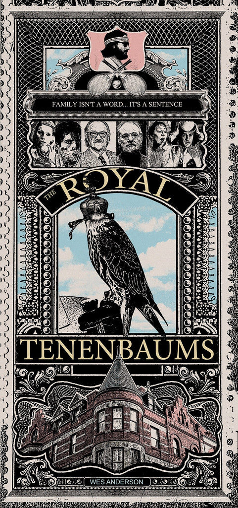 Royal Tenenbaums by Blunt Graffix 6x12