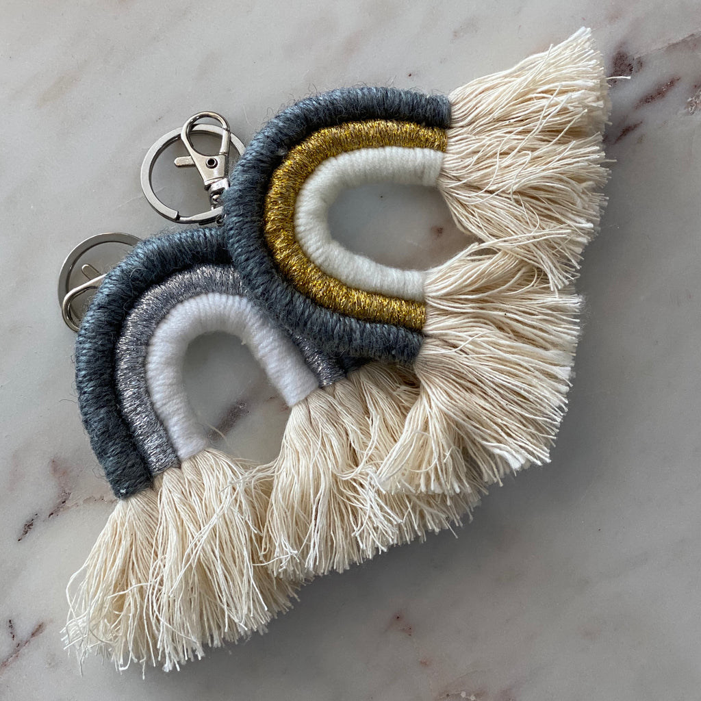 Elpida Rainbow Key Ring | Dutchess Martha