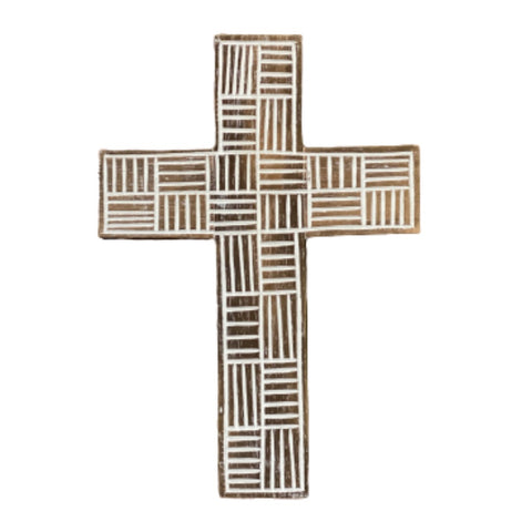 Wooden Carved Wall Cross