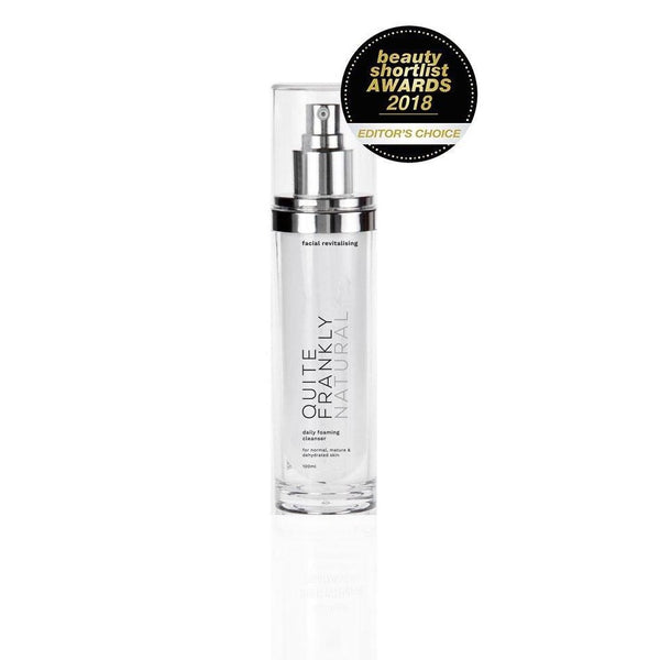 Quite Frankly Natural | Facial Revitalising Daily Foaming Cleanser 100ml
