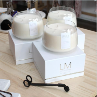 Lustre Melbourne Three Wick Candle